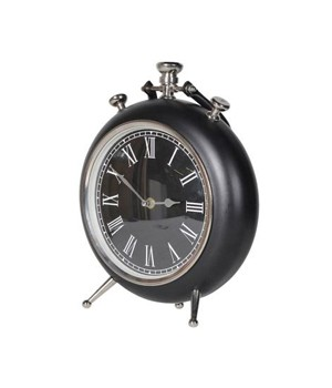 Black Pocket Watch Clock